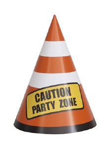 Construction Party Hats