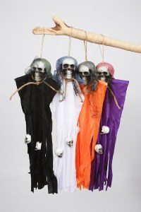 Creepy Hanging Ghost Prop