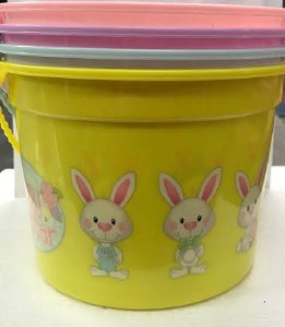 Blue Easter Bucket