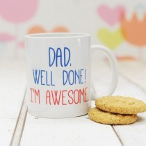 Dad Awesome Mug
