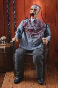 Death Row Halloween Prop