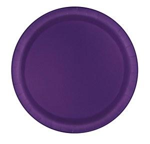 Deep Purple Paper Plates