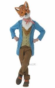 Deluxe Mr Fox Costume
