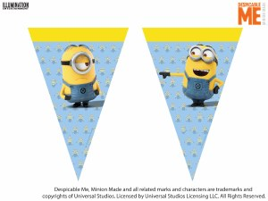 Despicable Me Flag Banner