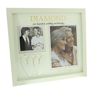 Diamond Anniversary Frame