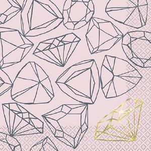 Diamond Ring Napkins