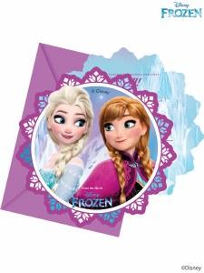 Disney Frozen Party Invites