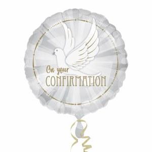 Dove Confirmation Balloon