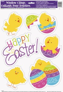 Easter Window Clings