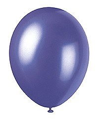 Electric Purple Balloons