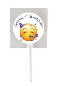 15PK Emoji Lollipops