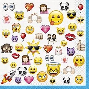 Emoji Party Napkins