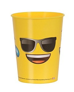 Emoji Plastic Cup