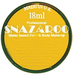 Yellow Snazaroo Face Paint