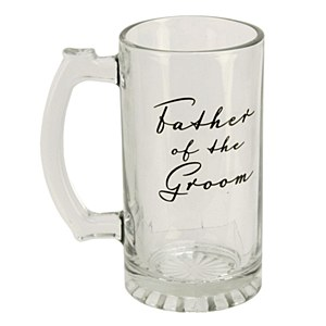Father Of The Groom Glass