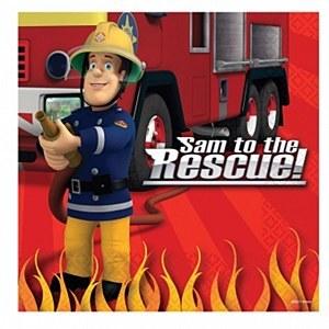 Fireman Sam Napkins