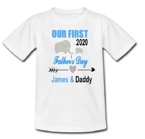 First Father's Day T-Shirt
