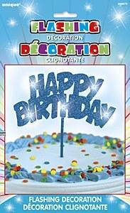 Flashing Birthday Decoration