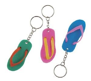 Flip Flop Keyrings