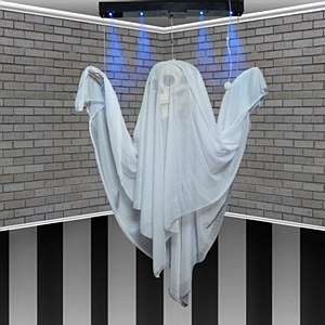 Floating Ghost Decoration