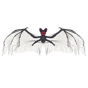 Flocked Grey Bat