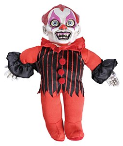 Giggles Haunted Doll Prop