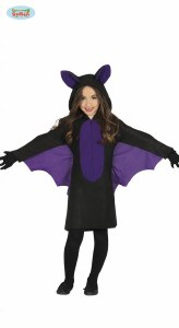 Girls Bat Costume