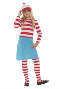 Girls Wheres Wally Costume