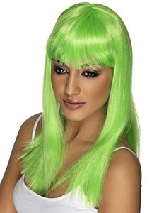 Neon Green Wig
