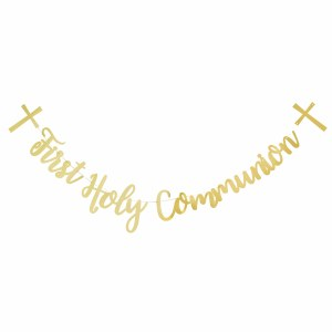 Gold Communion Letter Banner