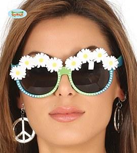 Green Daisy Glasses
