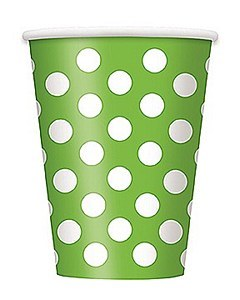 Green Dots Cups