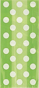 Green Dots Gift Bags