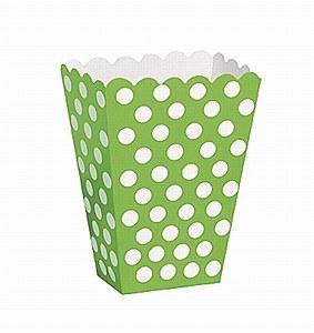 Green Dots Treat Boxes