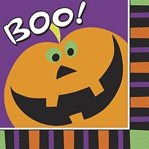 Halloween Boo Napkins