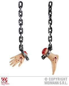 Halloween Chained Foot