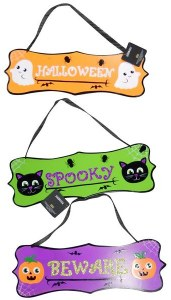 Cute Halloween Signs