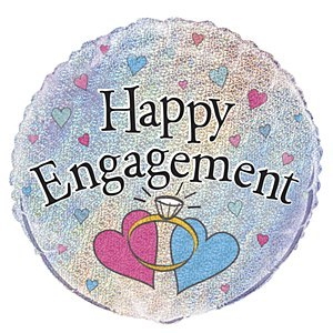 Happy Engagement Balloon
