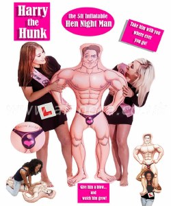 Harry The Hunk Inflatable Man