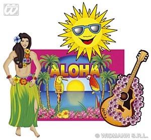 Hawaiian Cutouts Decorations