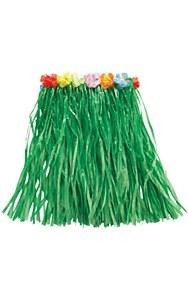 Hawaiian Green Grass Skirt