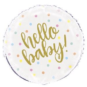 Hello Baby Foil Balloon