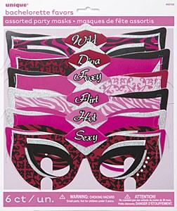 Hen Party Masquerade Masks