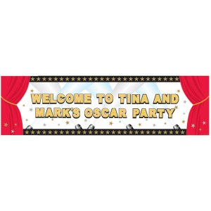 Hollywood Personalize Banner