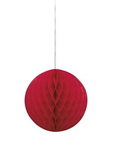 Honeycomb Ball Red
