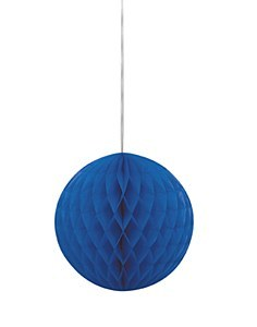 Honeycomb Ball Royal Blue
