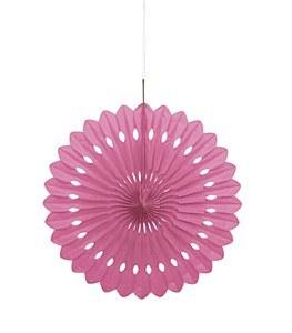 Hot Pink Paper Fan