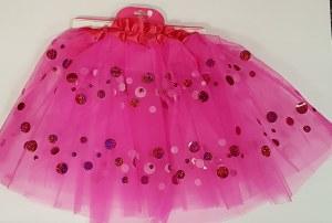 Hot Pink Dotted Tutu