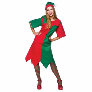 Plus Size Lady Elf Costume
