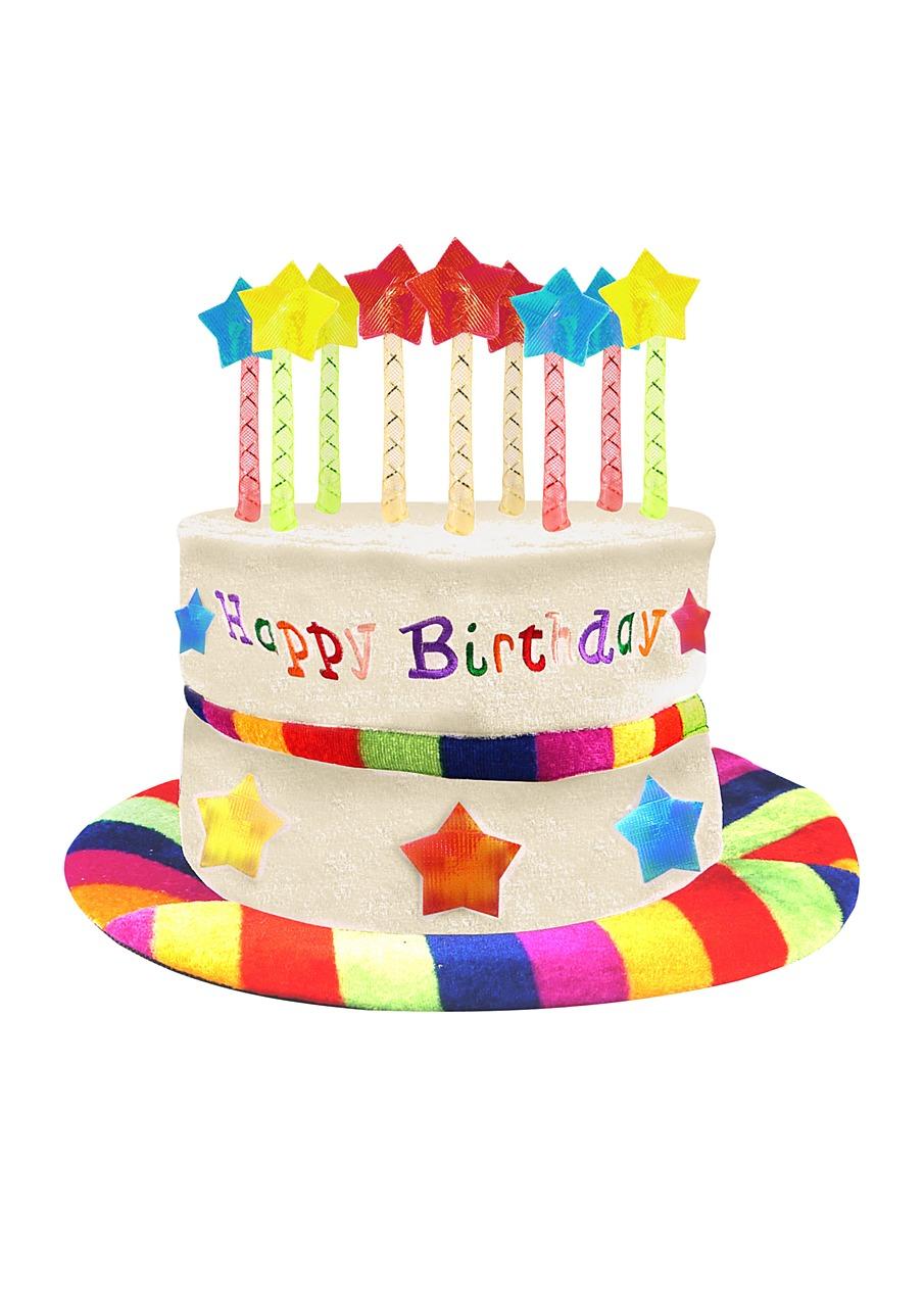 Enjoyable Birthday Cake Hat Partyworld Funny Birthday Cards Online Inifofree Goldxyz